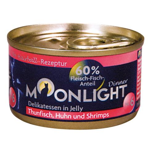 Nr 6 Thunfisch, Huhn + Shrimps in Jelly