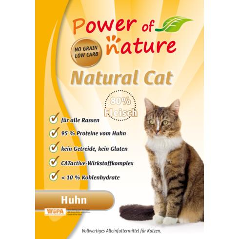 Power of Nature Natural Cat Fees Favorite - kurczak 7,5  kg