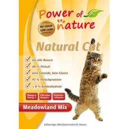 Natural Cat Meadowland Mix - 7,5  kg