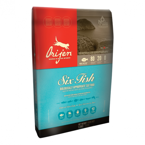Orijen 6 Fish Cat - 1,8 kg