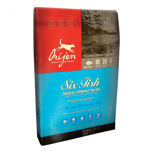 Orijen Adult 6 Fish Dog - 340 g