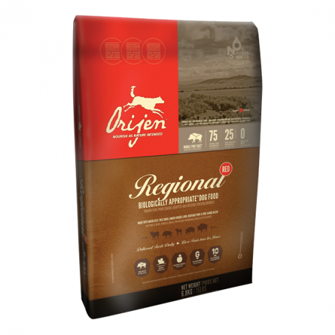 Orijen Regional Red Dog  - 2 kg