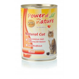 Power of Nature Natural Cat - wołowina 400 g