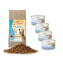 Active Natural Cat Cookies Choice 2 kg +4 puszkiZestaw  Applaws ryby oceaniczne 70g