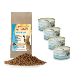 Active Natural Cat Cookies Choice 2 kg +4 puszki Zestaw Applaws tuńczyk 70g