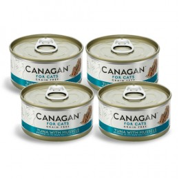 CZTEROPAK CANAGAN - Tuna with Mussels 4 x 75 g