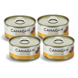 CZTEROPAK CANAGAN - Tuna with Chicken 4 x 75 g