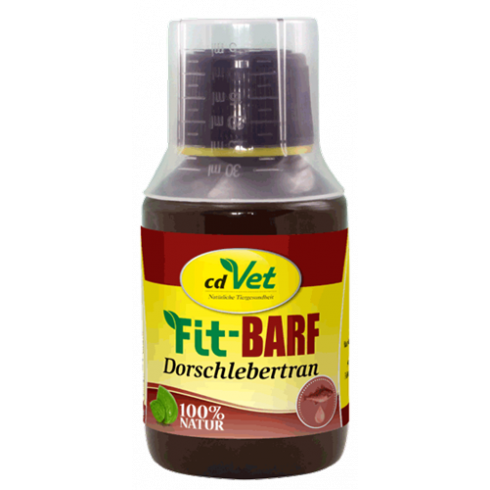 Fit-BARF Dorschlebertran-tran z dorsza 100 ml