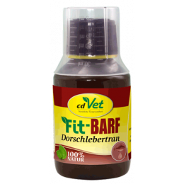 Fit-BARF Dorschlebertran-tran z dorsza 250 ml
