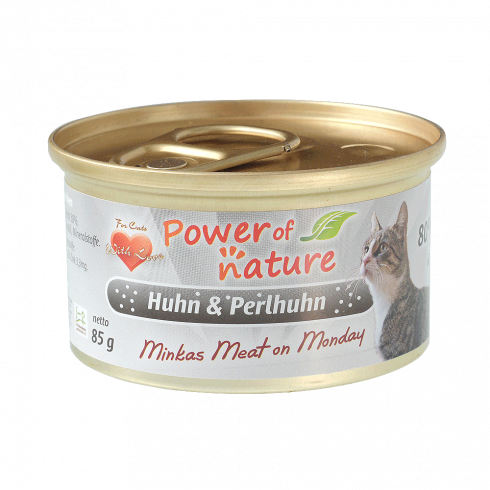 Power of Nature Minka's Meat on Monday- kurczak i perliczka 85 g