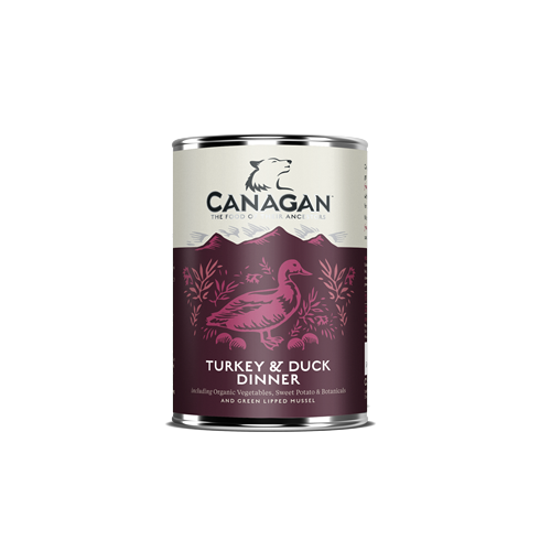 Canagan Dog Can - Turkey&Duck Dinner 400 g