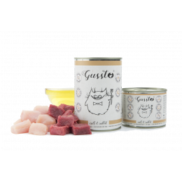 Gussto Cat - Fresh Calf&Rabbit 400 g