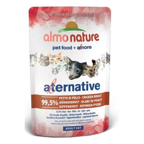Almo Nature Alternative - pierś kurczaka saszetka 55 g