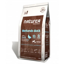 Naturea - GRAINFREE WETLANDS DUCK KACZKA 2 kg