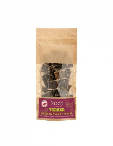 ROGY- YORKER przełyk wołowy paski 80 g