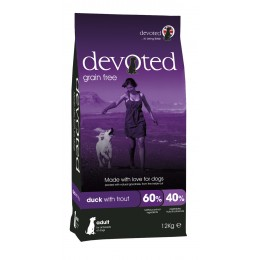 Devoted Dog Duck & Trout 12 kg