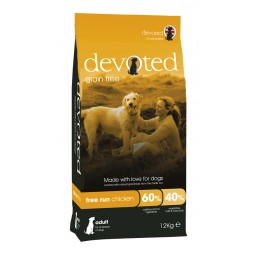 Devoted Dog Free Run Chicken 12 kg