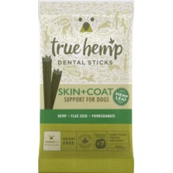 True Hemp Dog - dental stick Skóra i Sierść 100g