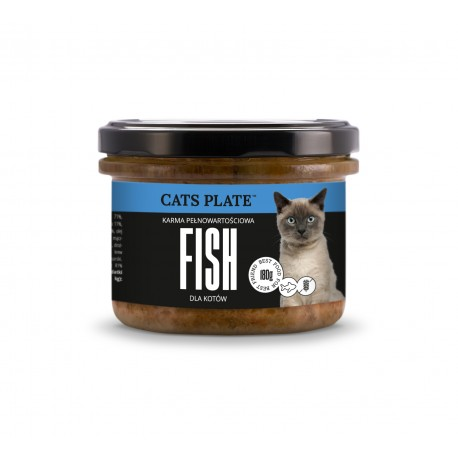 Cats Plate Fish - Filet z Dorsza 180g