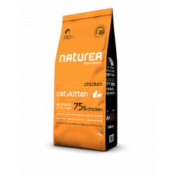 Naturea- NATURALS CAT AND KITTEN Kurczak 100 g